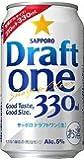 サッポロ ドラフトワン 330ml×1ケース(24本) ■3箱まで1個口発送可