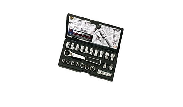 21 PC. SAE/Set de llaves de combinación GearRatchet?: Amazon.es: Bricolaje y herramientas
