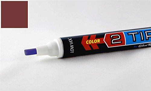 ColorRite 2Tip Hyundai Sonata Automotive Touch-up Paint - Dark Rosewood Metallic Clearcoat IT - Value Package