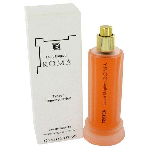 ROMA by Laura Biagiotti Eau De Toilette Spray (Tester) 3.4 oz