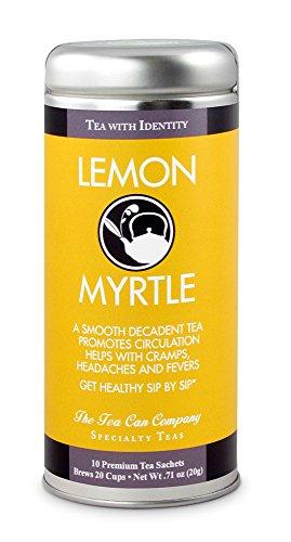 - Lemon Myrtle Tea- Ceylon Black Tea, All-Natural blend, Immune booster, 24 Servings