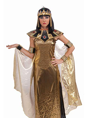 Forum Novelties 68735 Egyptian Cleopatra Headpiece For Women, As Shown, One -