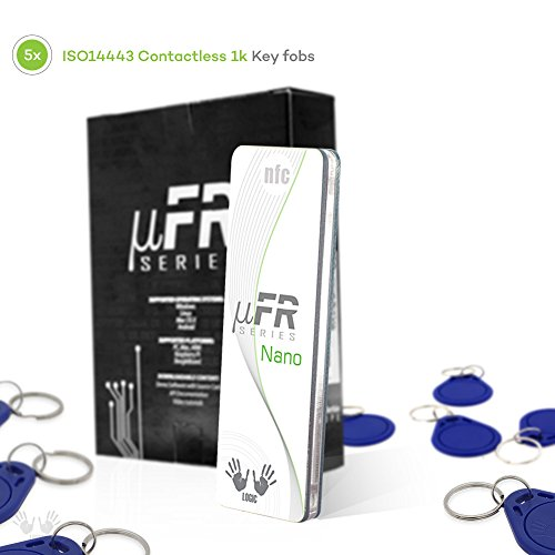 uFR Nano RFID NFC Tag and Card Reader Writer - 13,56 MHz