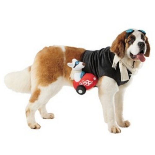 Dog Sidecar Rider Costume Pet Rider Large 25-50 Pounds - Sidecar Dog Costume