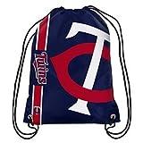 MLB 2015 Baseball Team Logo Side Stripe Backpack (Minnesota Twins)