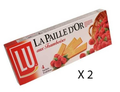 LU Paille d'Or - Raspberry Wafers - x 2 boxes