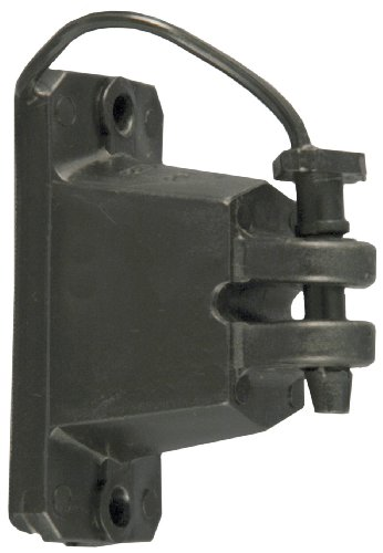 (Red Snap'r IWPLNB-RS Black Wood Post Pin Lock Insulators, 25 Count)