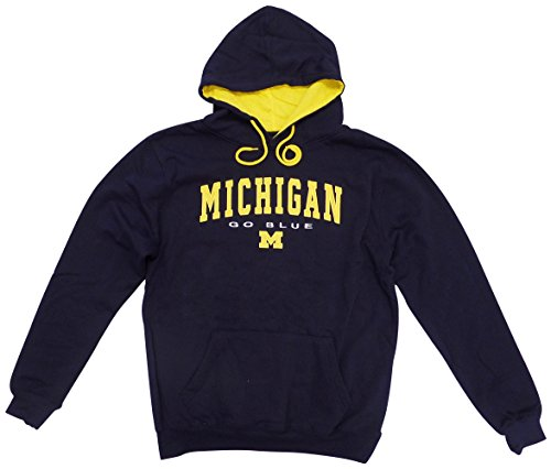 Colosseum Michigan Wolverines Men's Zone III Pullover Hooded Sweatshirt Small