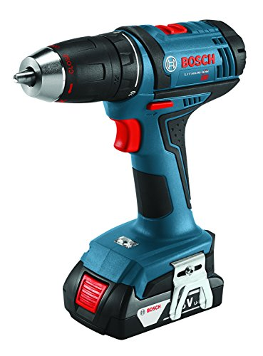 bosch 18 volt compact tough drill driver kit ddb181 02. Black Bedroom Furniture Sets. Home Design Ideas