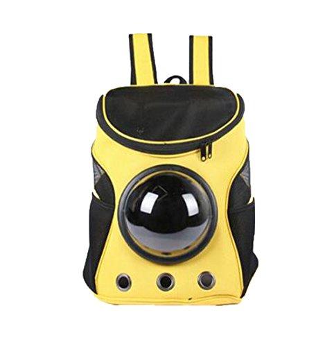 ANTOINETTE HAAS Carrier Dog Cat Space Capsule Shaped Pet Carrying Shoulder Backpack Outside Travel Portable Bag Pet (Antoinette Cup)