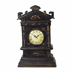 Large Old Fashion Wooden Clock (Quartz Movement) HL-421