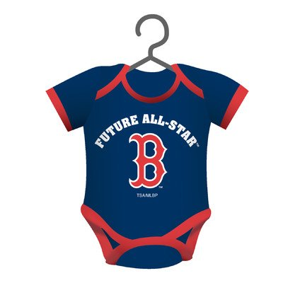 MLB Baby Shirt Ornament MLB Team: Boston Red -