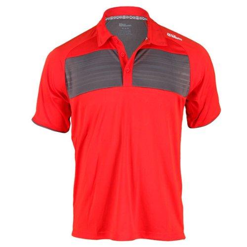 Wilson Vestido de pádel para hombre, tamaño L, color rojo: Amazon.es: Ropa y accesorios