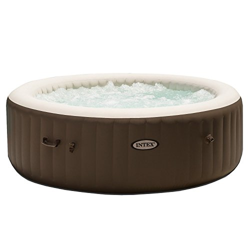 (Intex PureSpa 6-Person Portable Inflatable Bubble Jet Hot Tub)