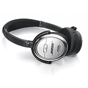 Amazon.com: Bose QuietComfort 3 Acoustic Noise Cancelling Headphones ...