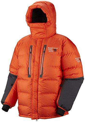 Mountain Hardwear Absolute Zero Parka - Men's State Orange/Shark Small