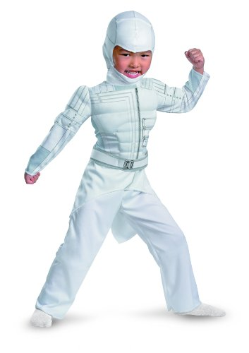 Shadow Storm Costume (G.i Joe Retaliation Storm Shadow Toddler Muscle Costume, White,)