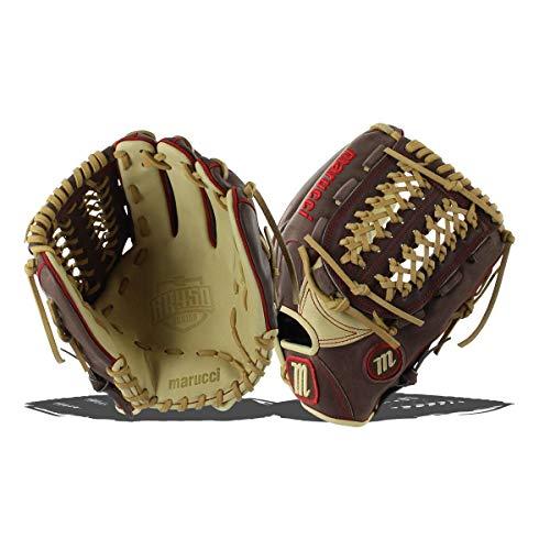 Marucci MFGBR12PT-GM/CM-RG BR450 Series Baseball Fielding Gloves, Gumbo/Camel, 12
