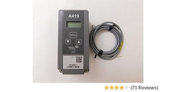 Johnson Controls A419ABC-1C Electronic Temp Controller on