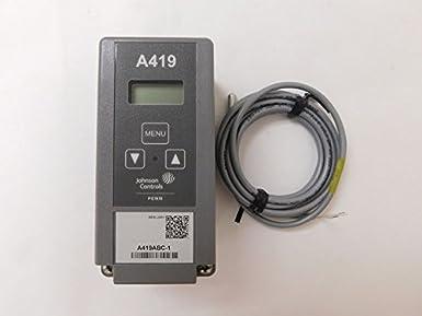 Johnson Controls A419ABC-1C Electronic Temp Controller: Hvac Controls:  Amazon.com: Industrial & ScientificAmazon.com