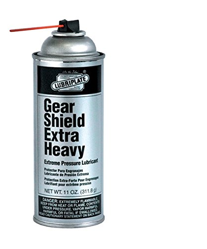Lubriplate Gear Shield Extra Heavy, L0152-063, Lithium-based,gear Grease, Ctn 12/11 Oz Spray by Lubriplate