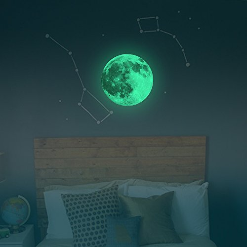 fly-spray-30cm-bedroom-glow-in-the-dark-colorful-full-moon-light-luminous-wall-ceiling-stickers-remo