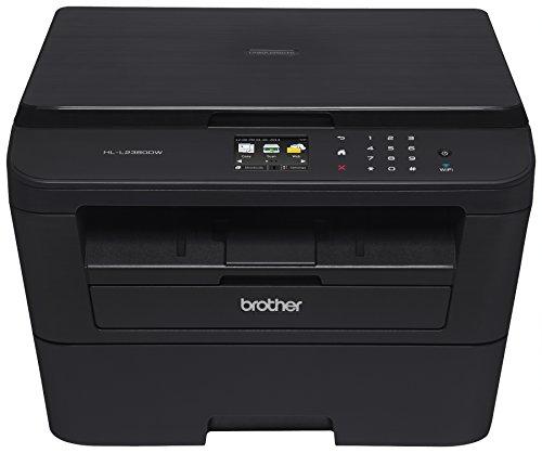 Brother Printer EHLL2380DW Wireless Monochrome Printer with Scanner & Copier (Certified Refurbished) (Duplex Monochrome Printer)