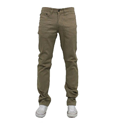 Fashion Ovedcray clothes Men Jeans Slim Stretch Fit Slim Fit Trousers Casual Pants Skinny Style (Bdu Ripstop Khaki Shorts Combat)