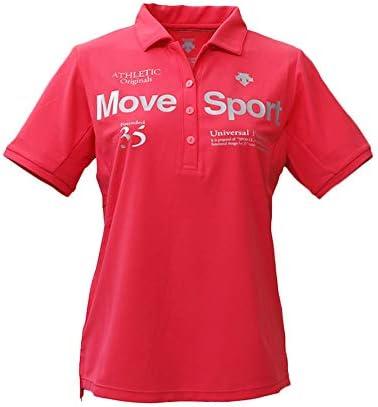 ポロシャツ レディース 上 DESCENTE 半袖 ドライ 吸汗速乾 UVカット ストレッチ DMWNJA70