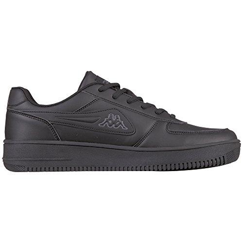 Kappa Unisex-voksen Bash Sneaker Sort (sort / Grå) jspNA