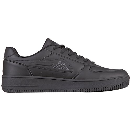 Kappa Unisex-adult Bash Sneaker Zwart (zwart / Grijs)