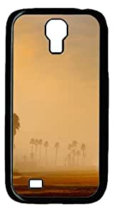 Los Angeles Morning Beach Custom Designer Samsung Galaxy S4 SIV I9500 Case Cover - Polycarbonate - Black