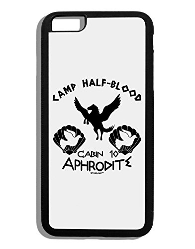 TooLoud Cabin 10 Aphrodite Camp Half Blood Black Dauphin iPhone 6 Plus Cover