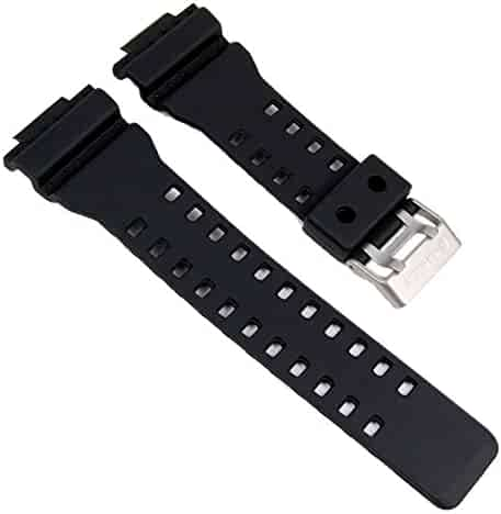Genuine Casio Replacement Watch Strap 10347688 for Casio Watch GA-100C, GA-300, GAC-100, GA-100, G-8900, GA-120 + Other models