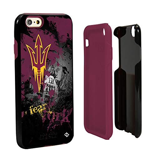 - Guard Dog Arizona State Sun Devils Paulson Designs Spirit Hybrid Case for iPhone 6 / 6s with Guard Glass Screen Protector