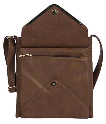 Medium Design Cross Red Shop Bag Size Messenger Deep Big Handbag Body 2 1 Womens Shoulder Compartment HvUp7pwqB