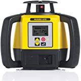 Leica R670,REBasic, Alkaline Rugby 670 2000-Feet Self Leveling Horizontal, Single Axis Dial in Grade, Rotary Laser Kit with Rod Eye Basic Receiver, Yellow