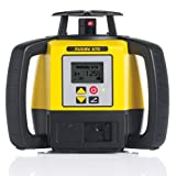Leica R670,RE140, Alkaline Rugby 670 2600-Feet Self Leveling Horizontal, Single Axis Dial in Grade, Rotary Laser Kit with Rod Eye 140 Receiver, Yellow