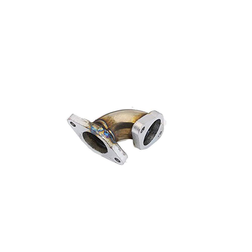 ISPEEDY Stainless Steel Dump Tube Angle Adapter Pipe 35//38mm Wastegate For Toyota Nissan Honda Acura Kits Diamond Pipe Nozzle Kit