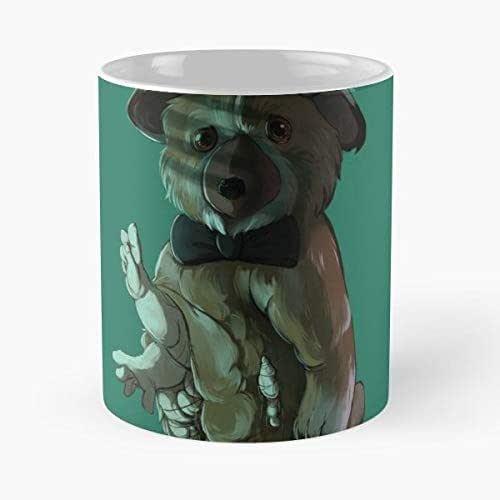 Amazon Com Scp Foundation Monster Teddy Bear Morning Coffee Mug