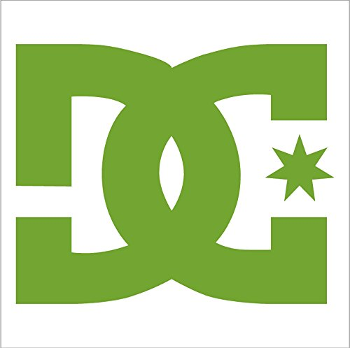 Forum Green Beanie (DC Shoe Company vinyl decal sticker , Lime Green)