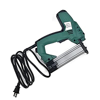 2 in 1 Carpet PRO Electric Crown Carpet Stapler Tacker Brad Nail Nailer