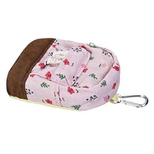 DZT1968 Canvas Floral Square Backpack