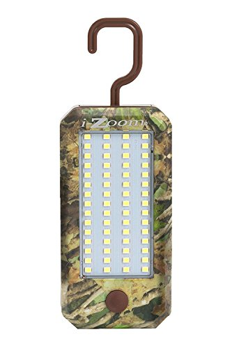 Camo - Versa Smart Utility Light - 900 Lumens Extreme Brightness - 4 LED Flashlight - 60 SMD Worklight -for Camping, Hiking, Hunting, Garage, Power Outages and more