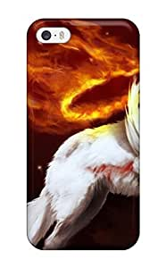 LJF phone case Cynthaskey TzVFXcS1974zMvJW Case For Iphone 5/5s With Nice Okami Appearance