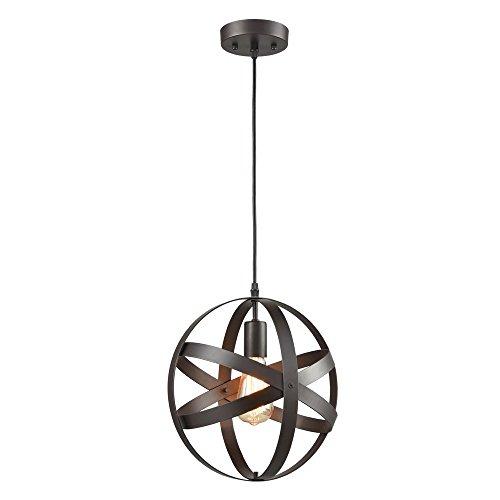 Light Fixtures Uae: Truelite Industrial Metal Spherical Pendant Displays