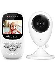 iLifeSmart Wireless Babyphone Video Baby Monitor with Camera 2.4GHz Zwei Wege Audio&Nachtsicht&Temperatursensor