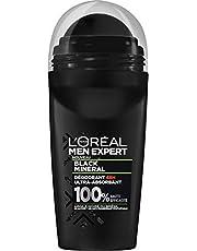 L'Oréal Paris Men Expert Black Mineral Dezodorant Bille 48H Ultra Absorbant Men, 50 ml