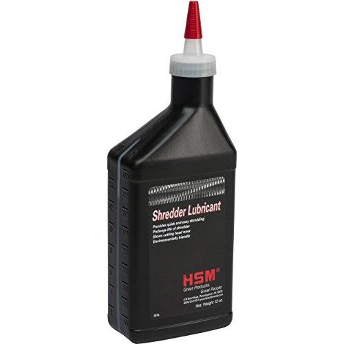 HSM Shredder Oil, 12 oz., Bottle, Clear (316)