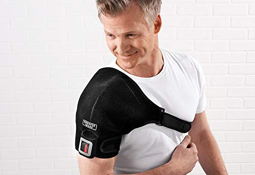 Sharper Image Cordless Shoulder Heat Therapy Wrap - L/XL